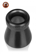 Cone of Shame Chastity Device - Le cône de la honte... A la fois un cockring et un accessoire de chasteté original, 100% silicone platinum, par Oxballs.