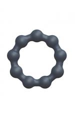 Anneau de pénis Maximize Ring - Dorcel - Cockring 100% silicone avec des petites boules, pour accroitre les performances masculines et le plaisir des 2 partenaires.